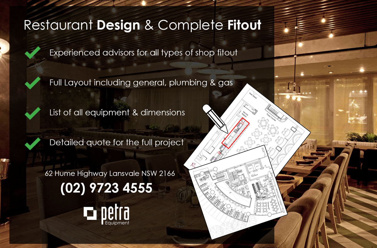 commercial kitchen design in Sydney
