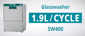 Eswood SW400 Smartwash Undercounter Glasswasher