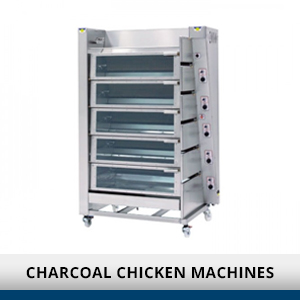 Charcoal Chicken Machines