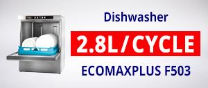 Hobart ECOMAXPLUS F503 Undercounter Dishwasher
