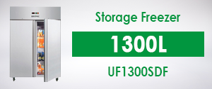 Bromic UF1300SDF Upright Storage Freezer