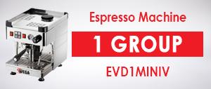 Wega EVD1MINIV Espresso Machine