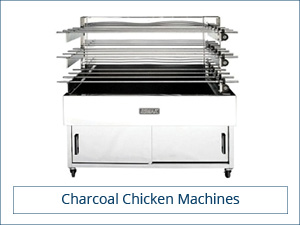 Charcoal chicken machine