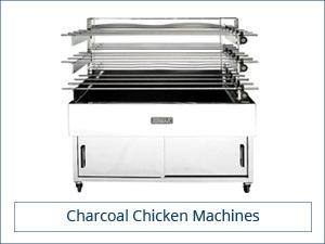 Charcoal chicken machine