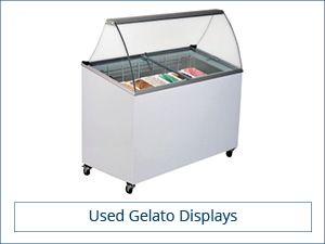 Used Gelato Displays