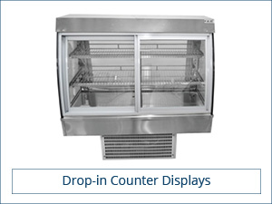 Drop-in Counter Displays