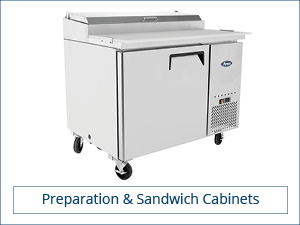 Preparation & Sandwich Cabinets