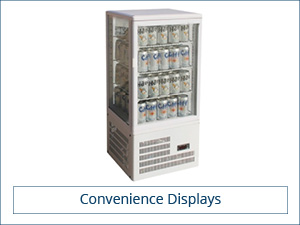 Supermarket . Convenience Display