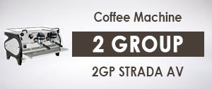 La Marzocco 2GP STRADA AV Commercial Coffee Machine 2 Group