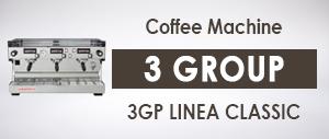 La Marzocco 3GP LINEA CLASSIC Commercial Coffee Machine 3 Group