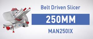 MAN250IX Smarty Range Belt Driven Slicer