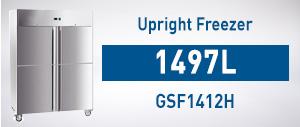 Upright Gastronorm Freezer