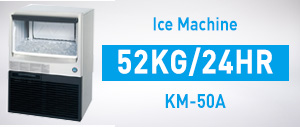 KM-50A Ice Machine 52kg/24hr