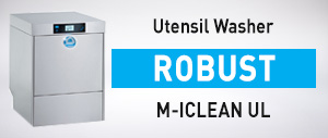M-ICLEAN UL Premium Commercial Utensil Washer