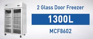 MCF8602 Top Mounted Double Door Freezer