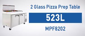 MPF8202 Pizza Prep Table 2 Door